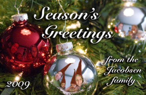 season's greetings from the jacobsen family